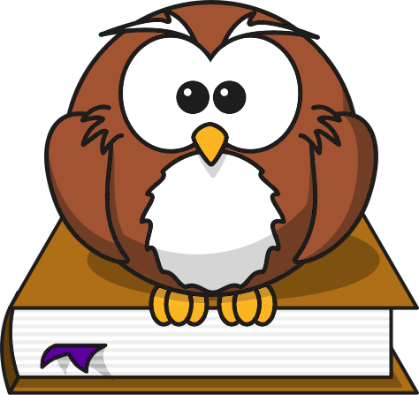 cartoon_owl_sitting_on_a_book_T
