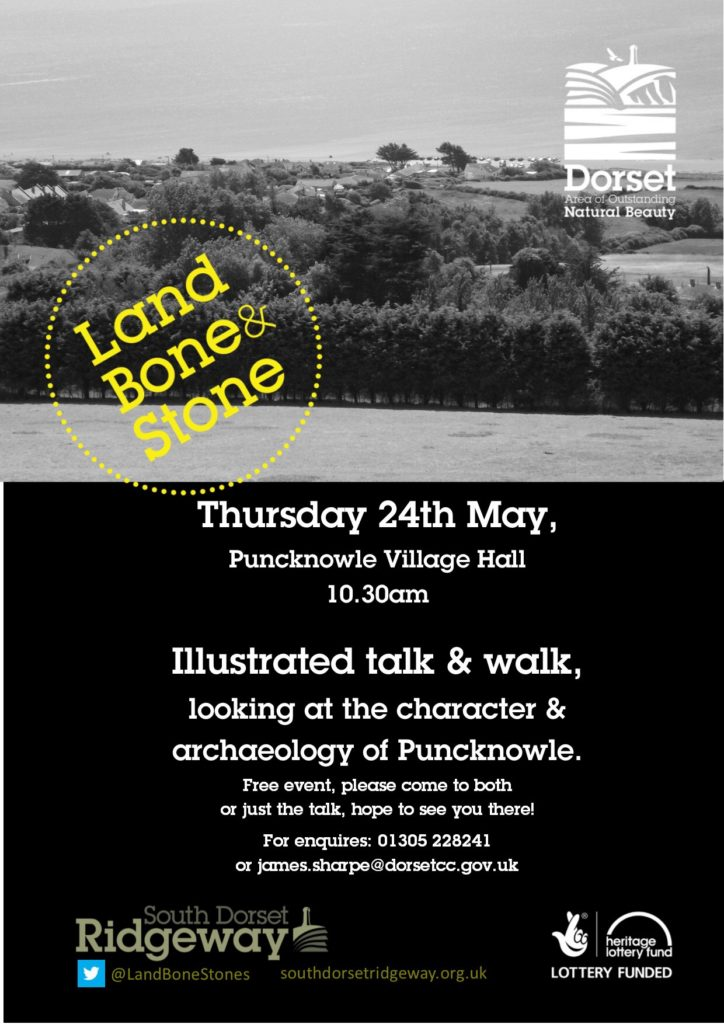 FREE Puncknowle Talk & Guided Walk @ Puncknowle & Swyre Village Hall